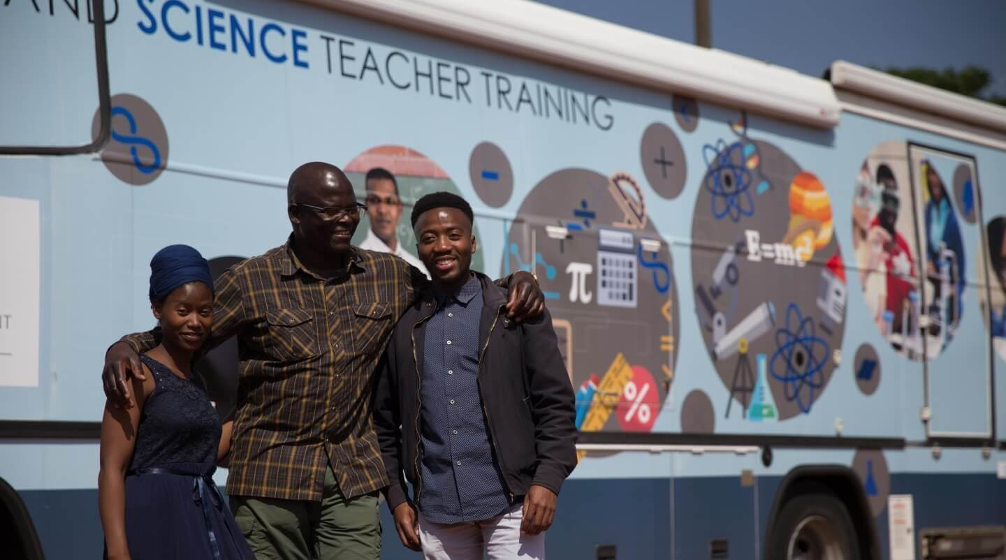 Driving change in Gauteng Maths and Science